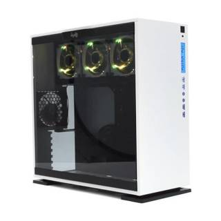 In Win 303 WHITE Aurora Edition Middle Tower Paratia laterale vetro temperato - Bianco No-Power mATX/miniITX/ATX